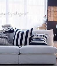 Ikea Sofa Pillows by Ikea Striped Square Home Décor Pillows Ebay