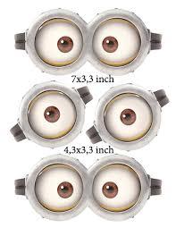 minion printable eyes instant download minion eyes 3