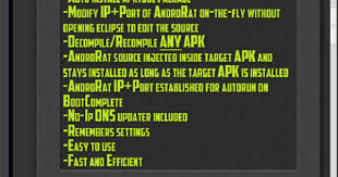 androrat apk binder how to hack any android device using androrat app binder