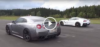 corvette z51 vs z06 nissan gt r vs chevrolet corvette z06 drag race