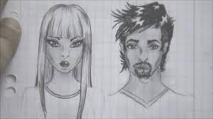 how to draw cartoon face tutorial youtube