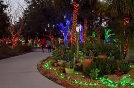 Botanical Gardens Lights Hundreds Of Thousands Of Lights On Display At Florida Botanical