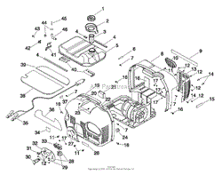 snapper g10000 1000 watt 2 5 hp portable generator 1666 0 parts