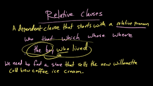 dependent and independent clauses practice khan academy
