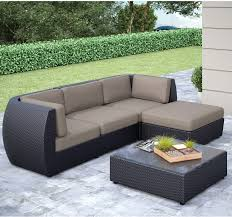 Patio Chairs With Ottomans by Seattle Sofa Ottoman And Table Set The Brick