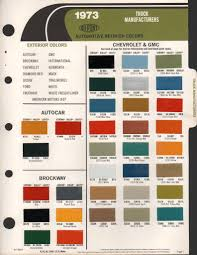 factory blazer colors the 1947 present chevrolet u0026 gmc truck