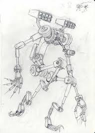 daryl marsh 2nd punch bag robot maya build