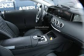 2015 mercedes s class interior spyshots 2015 mercedes s class coupe interior revealed