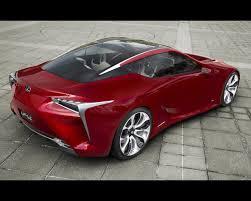 lexus lf lc hybrid 2 2 sport coupe design concept 2012