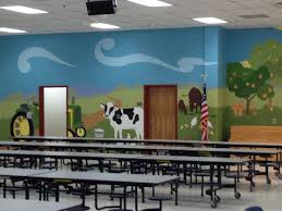 66 best images about mural and school wall ideas on pinterest farm mural in an elementary school cafeteria www athenswallmurals com