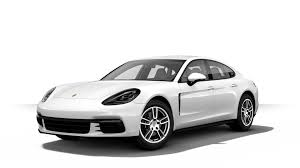 Porsche Panamera All White - the new panamera 4s