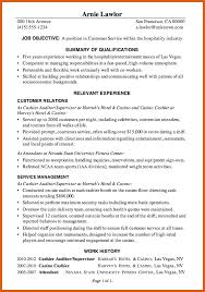 resume examples for hospitality industry sample resume letter for