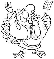 Funny Thanksgiving Coloring Pages Turkey Coloring Book Pages Coloring Home