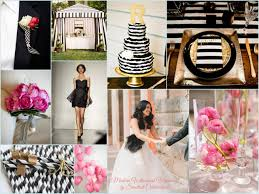 pink white gold wedding black and white wedding photos awesome modern whimsical