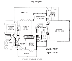 graham house plans blueprints floor plans architectural drawings