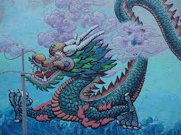 ride wave chinese zodiac water dragon 2012