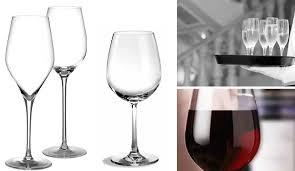 bicchieri a calice cantina arredo bicchieri