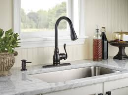kitchen sink and faucet ideas rubbed bronze kitchen sink faucet interior design ideas