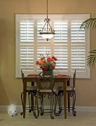 Dining Room Window Custom Shutters In Dining Rooms