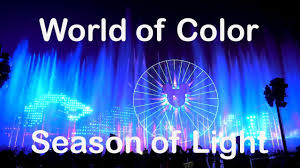 world of color season of light new 2017 world of color season of light holiday show at disney