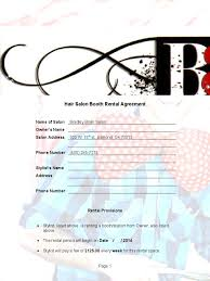 booth rental agreement 6 free templates in pdf word excel download