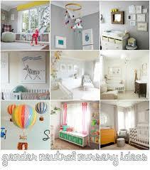 Neutral Nursery Decorating Ideas Gender Neutral Nursery Decor Inspiration