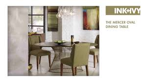 oval dining room set ink ivy mercer dining table u0026 reviews wayfair