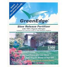 sq ft to ft greenedge 40 lb 6 2 0 slow release organic fertilizer lawn and