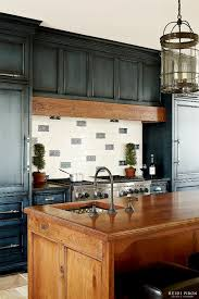 how to paint kitchen cabinets antique blue 23 gorgeous blue kitchen cabinet ideas distressed kitchen