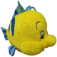 disney mermaid cuddle pillow flounder