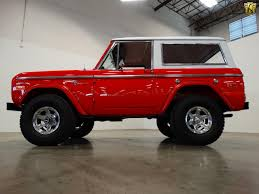 bronco jeep 2017 this u0027new u0027 1973 bronco trumps the upcoming bronco ford trucks com