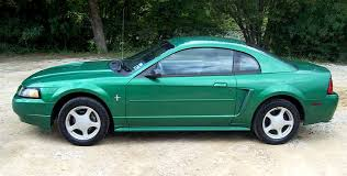 02 mustang v6 electric green 2002 ford mustang coupe mustangattitude com photo