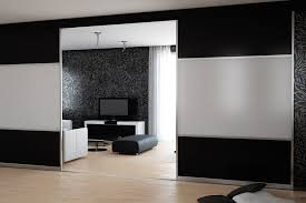 How To Make A Room Screen Divider - mirrored sliding room dividers divider doors 0 best 25 internal