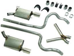 ford racing exhaust mustang v6 racing v6 dual exhaust kit 05 09 mustang