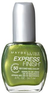 amazon com maybelline new york express finish 50 second nail