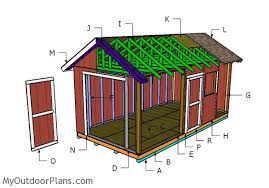Free Wooden Shed Designs by 10x20 Shed Plans Myoutdoorplans Free Woodworking Plans And