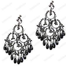 clip on chandelier earrings clip on chandelier earrings ebay