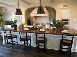 glamorous large luxury kitchen featuring black color wooden