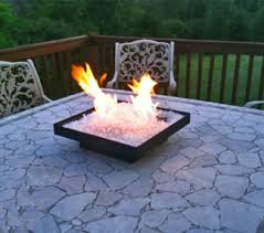 Portable Gas Firepit Fireglass Patent Fireplace Glass Place Glass Pit