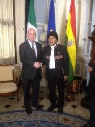 evo morales visit of the president of bolivia evo morales to dublin