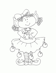 printable elf girl 28 best christmas coloring pages images on pinterest free