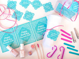 manicure set favors birthday party favors diy manicure kits gift favor ideas from