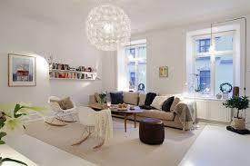 apartments livingroom interior enjoyable white leather modern