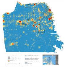 San Francisco Bike Map Bikeshare 2016
