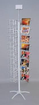 floor ls made in usa 48 pocket 5x7 greeting card rack horizontal display horizontal