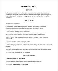 File Clerk Job Description Resume by Warehouse Job Description Stock Resume Stocker Job Description