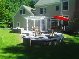 Images Of Backyard Fire Pits by Fire Pits U0026 Features In Connecticut The Bahler Brothers