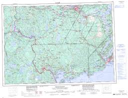 Topographic Map Usa by Printable Topographic Map Of Fredericton 021g Nb