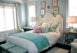 bedroom astounding blue teenage bedroom decoration using