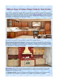different types of cabinets in kitchen different types of cabinet design trends for your kitchen